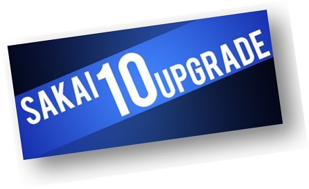Sakai 10 Upgrade Graphic